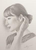 中島健太 デッサン画『black&white』(限定1枚)