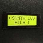 【ネームプレート】液晶LCD・ネームプレート/ライムグリーン
