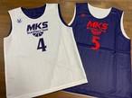 【デザインサンプル】三笠中学校男子バスケットボール部(U15・男子)リバーシブルシャツ
