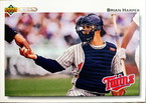 MLBカード 92UPPERDECK Brian Harper #527 TWINS