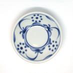 【砥部焼/梅山窯】3寸小皿(太陽)