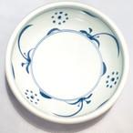 【砥部焼/梅山窯】8寸玉縁鉢(太陽)