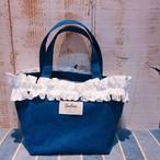 【8/11予約販売】Fluffy bag2(Navy)  ※8月下旬発送