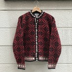 """L.L.Bean"" 90's Vintage Nordic Knit Cardigan"