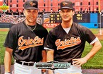 MLBカード 93UPPERDECK Cal Ripken Jr & Brady Anderson #44 ORIOLES TEAMMATE