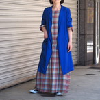 【ethical hippi】cotton check one-piece(5) / 【エシカル ヒッピ】コットン チェック ワンピース(5)