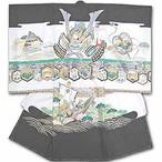 お宮参りお祝い着(初着) 男児 7-449こちらの商品には帽子セットは付きません