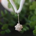 【マスクチャーム】[silver999]純銀クロッシェ 金平糖マスクチャーム(淡水パール)