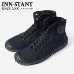 #402N HI-CUT CANVAS navy (black sole) INN-STANT インスタント 【消費税込・送料無料】
