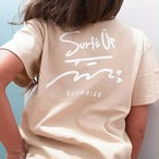 Surf's Up Tee - Light beige