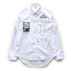 anarchy DCTL shirt 048(white riot)