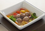 馬だんごスープ煮 130g 28kcal(ゆうパケット不可)