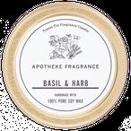 TRAVEL TIN CANDLE / Basil & Harb