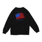MOANDMO  L/S U.S.A. Tee (Black)