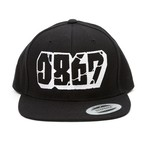 0867 / Snapback / Blockbuster / Logo / Black