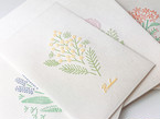 刺繍のような活版印刷のポチ袋