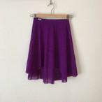 ◆Minimalist Ballet Skirt: PURPLE (ミニマリスト・プルオンバレエスカート(パープル))