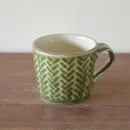 オリーブグリーンマグカップ