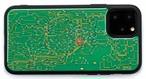 【福袋  約20%お得】FLASH 回路線図/回路地図 iPhoneケース+ICカードケース(1月5日まで)