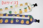 【M】クールネックカラー*パイナップル