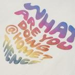 「WWL」ロングTシャツ ホワイト