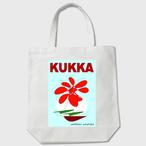 KUKKA blue わしかオリジナルトートバッグ(白orベージュ)※送料無料