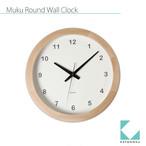 KATOMOKU muku round wall clock  km-32N