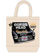 No.2020-royaldog-tote0005  : ロイヤルドッグシリーズ miniと王冠 トートバッグMサイズ