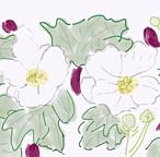 絵画 インテリア アートパネル 雑貨 壁掛け 置物 おしゃれ 風景画 アブストラクトアート 夏 ロココロ 画家 : YUTA SASAKI 作品 : 夏ふよう