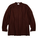 "Just Right ""Hockey Shirt Wool"" Brown"