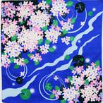 【梅雨】シャンタン 涼あじさい ブルー