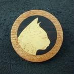 wooden inlaid charm IB-001-SK