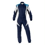 IA01854E244 FIRST EVO SUIT MY2020 Navy blue/white/cyan