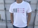 USA ArrowFlag Tシャツ(white)