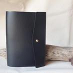 大容量 革のカードケース (ギボシ仕様)  / ブラック