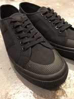 SUPERGA × ANK TOTAL BLACK-BLACK