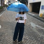 4丁目交差点は今日も雨 Tシャツ