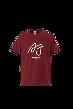 AJロゴTシャツ(バーガンディ)