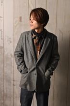 EFFECTEN(エフェクテン) herringbone tailored jacket