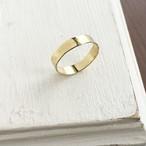 【真鍮・指輪】ヴィンテージなリング 平・幅太・ペアリングにも♪