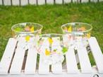 昭和レトロなフルーツ柄がかわいいデザート皿 東洋ガラス