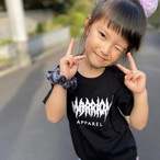 【for Kids】MARRION APPAREL LOGO Tee (Black×White)