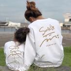 【予約販売】Surf's Up sweat - White ※10月中旬~下旬発送