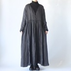 Vlas Blomme - Wild Double Gauze ワンピースコート - Charcoal