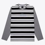 Noah x New Order Stripe Top(Navy/Black/White)