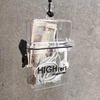 HIGH(er)magazine ロゴ入りクリアケース