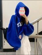 ブレンドリーフードトレーナー フードトレーナー フーディー 韓国ファッション