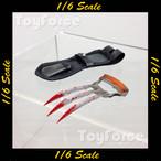 【02860】 1/6 DAMToys GK11 鉤爪型ナイフ & ホルスター