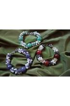 Gem stone bracelet