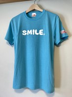 hs-10 ACTIVE 『SMILE』 T-SHIRT ・アクアブルー